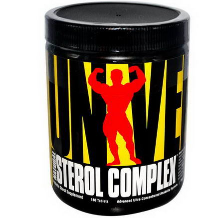 Universal Nutrition, Natural Sterol Complex, Anabolic Sterol Supplement, 180 Tablets