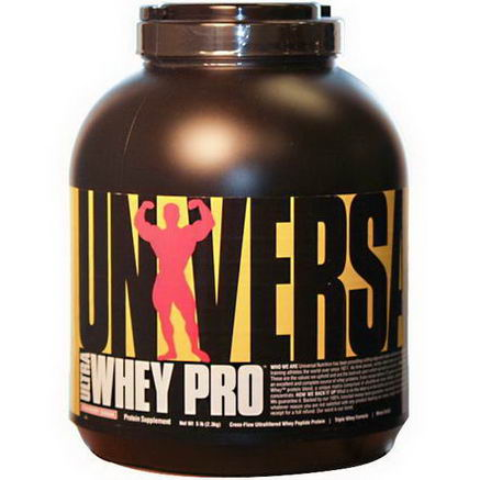 Universal Nutrition, Ultra Whey Pro, Protein Supplement, Strawberry Banana, 5 lbs (2.3 kg)