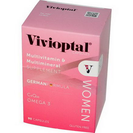 Vivioptal, Women, Multivitamin & Multimineral Supplement, 90 Capsules