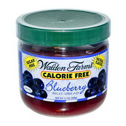 Walden Farms, Blueberry Fruit Spread, 12oz (340g)