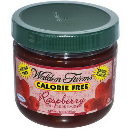 Walden Farms, Raspberry Fruit Spread, 12oz (340g)