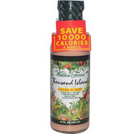 Walden Farms, Thousand Island Dressing, 12 fl oz (355 ml)