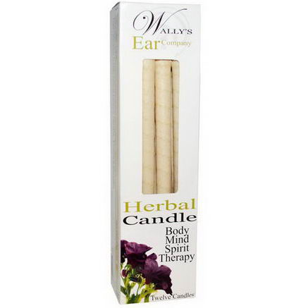 Wally's Natural Products, Herbal Candle, 12 Candles