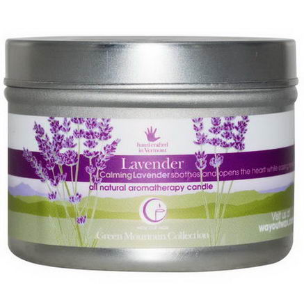 Way Out Wax, All Natural Aromatherapy Candle, Lavender, 3oz (85g)