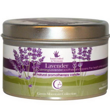 Way Out Wax, All Natural Aromatherapy Candle, Lavender, 6.7oz (190g)