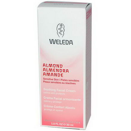 Weleda, Almond, Soothing Facial Cream, 1.0 fl oz (30 ml)