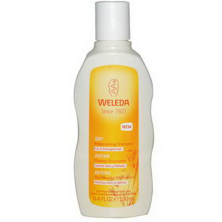 Weleda, Oat Replenishing Shampoo, 6.4 fl oz (190 ml)