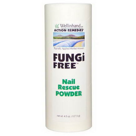 Wellinhand Action Remedies, Fungi Free, 4.5oz (127.5g)