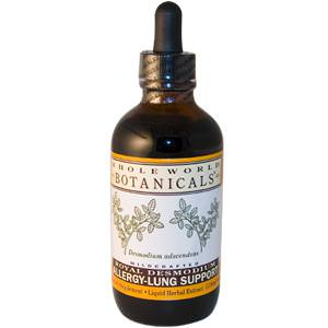 Whole World Botanicals, Royal Desmodium, Allergy-Lung Support, 4oz (118 ml)