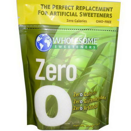 Wholesome Sweeteners, Inc. Zero, All Natural Erythritol, 12oz (340g)