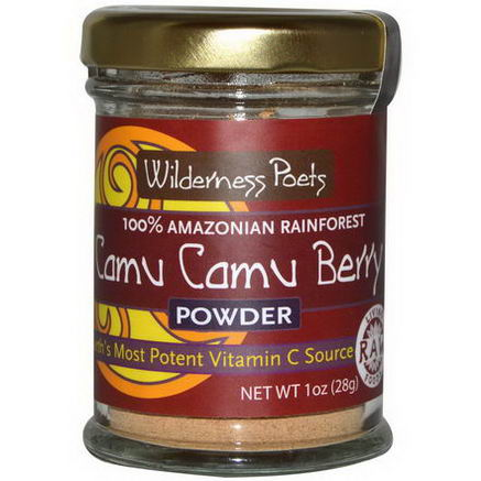 Wilderness Poets, Camu Camu Berry Powder, 1oz (28g)