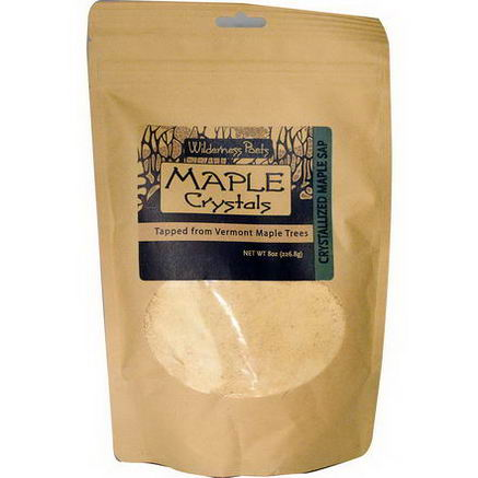 Wilderness Poets, Maple Crystals, 8oz (226.8g)