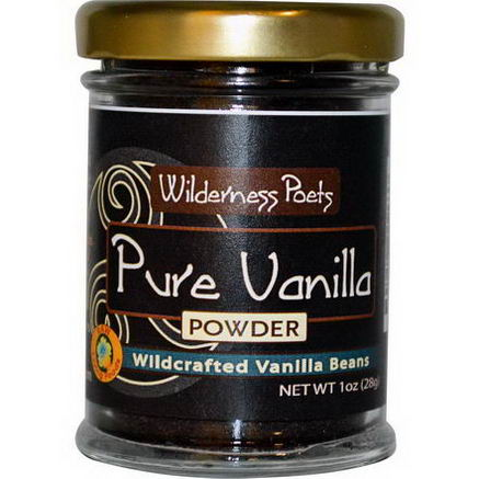 Wilderness Poets, Pure Vanilla Powder, Farm Grown, 1oz (28g)