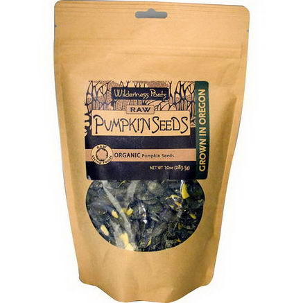 Wilderness Poets, Raw Pumpkin Seeds, 10oz (283.5g)