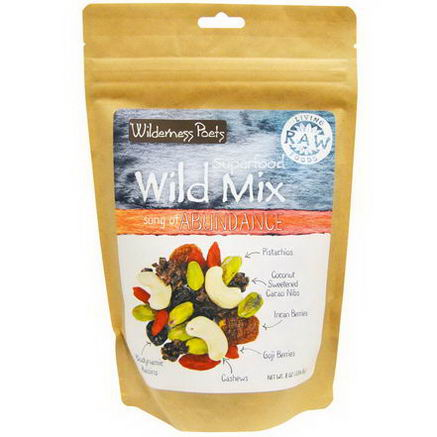Wilderness Poets, Superfood Wild Mix, Song of Abundance, 8oz (226.8g)