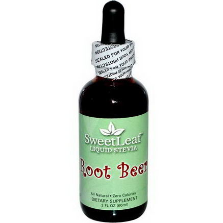Wisdom Natural, SweetLeaf, Liquid Stevia, Root Beer, 2 fl oz (60 ml)