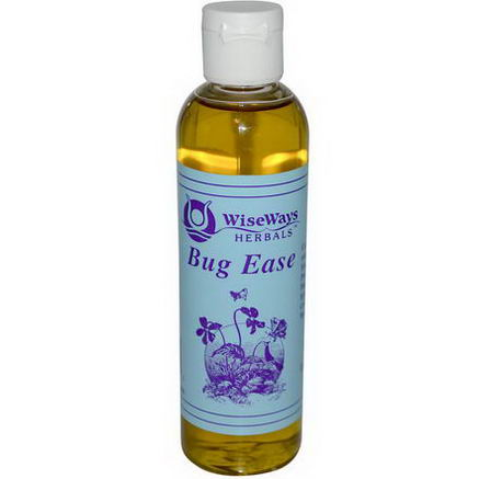 WiseWays Herbals, LLC, Bug Ease, 4 fl oz (118 ml)