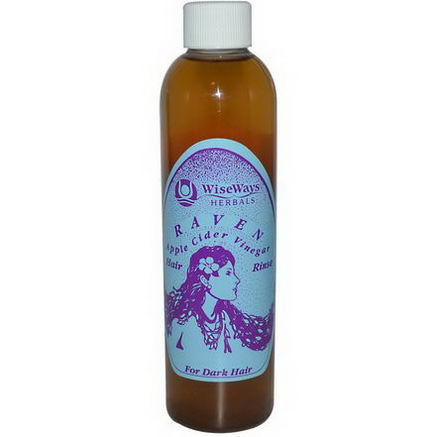 WiseWays Herbals, LLC, Raven, Apple Cider Vinegar Hair Rinse, 8 fl oz