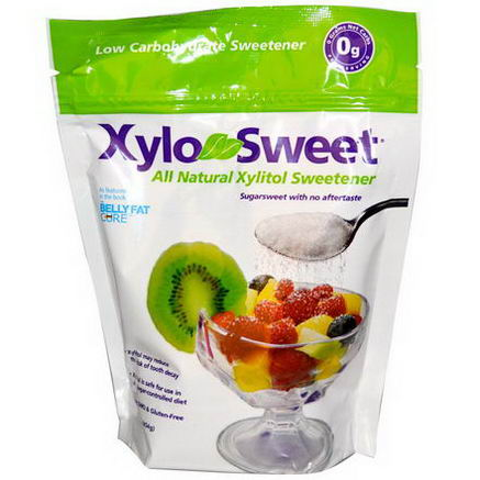 Xlear Inc (Xclear), XyloSweet, All Natural Xylitol Sweetener, 1 lb (454g)