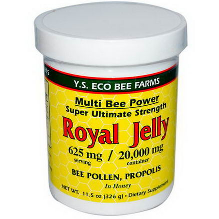 Y. S. Eco Bee Farms, Royal Jelly, 11.5oz (326g)