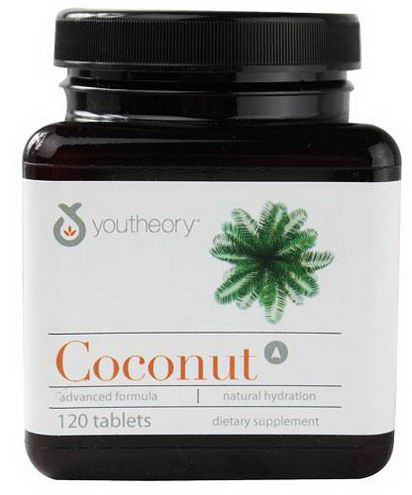 Youtheory, Coconut, 120 Tablets