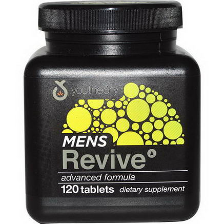Youtheory, Mens Revive, 120 Tablets