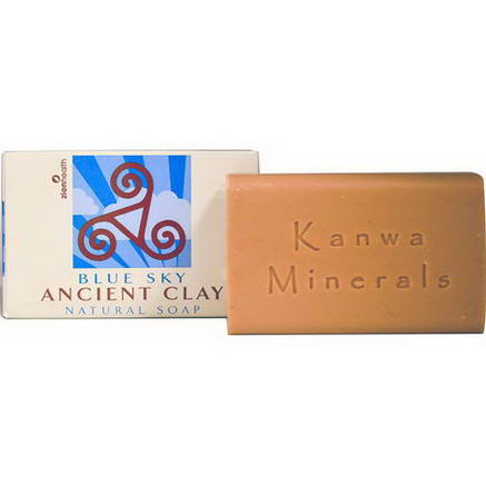 Zion Health, Ancient Clay Natural Soap, Blue Sky, 6oz (170g)