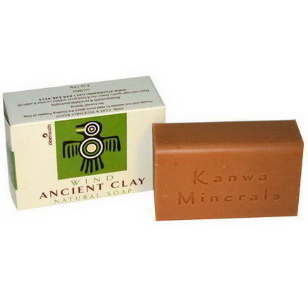 Zion Health, Ancient Clay Natural Soap, Wind, 6oz (170g)