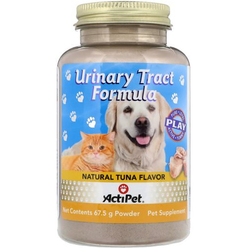 Actipet, Urinary Tract Formula, For Dogs & Cats, Natural Tuna Flavor, 67.5 g Review