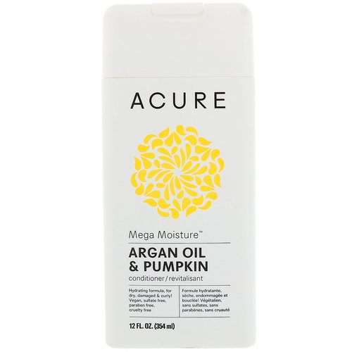 Acure, Mega Moisture Conditioner, Argan Oil & Pumpkin, 12 fl oz (354 ml) Review