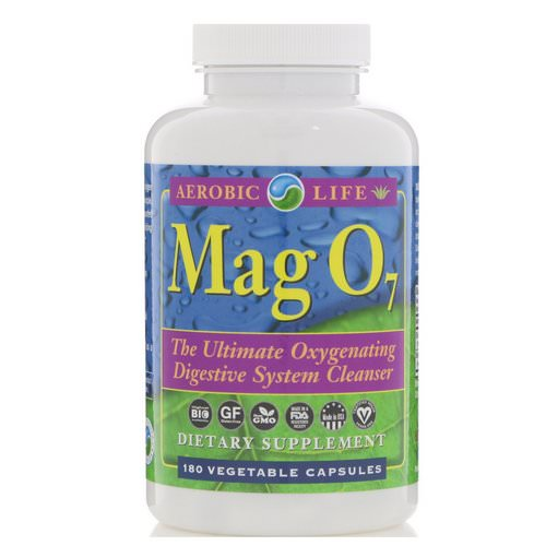 Aerobic Life, Mag 07, The Ultimate Oxygenating Digestive System Cleanser, 180 Vegetable Capsules Review