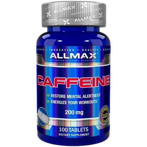 ALLMAX Nutrition, Caffeine, 200 mg, 100 Tablets Review
