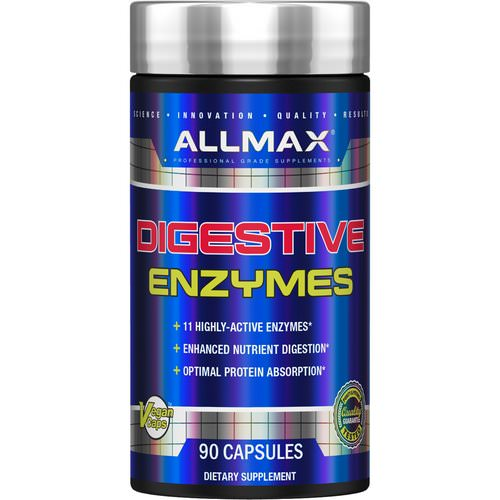 ALLMAX Nutrition, Digestive Enzymes + Protein Optimizer, 90 Capsules Review