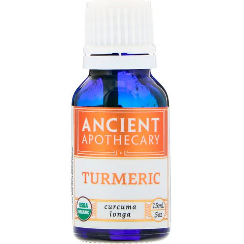 Ancient Apothecary, Turmeric, .5 oz (15 ml) Review