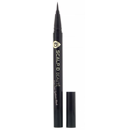 Angfa, Scalp-D Beaute, Pure Free Eyeliner, Black, 0.02 fl oz (0.57 ml) Review