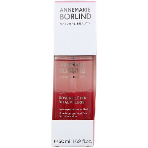 AnneMarie Borlind, Natural Beauty, Rose Blossom Vital Care, 1.69 fl oz (50 ml) Review