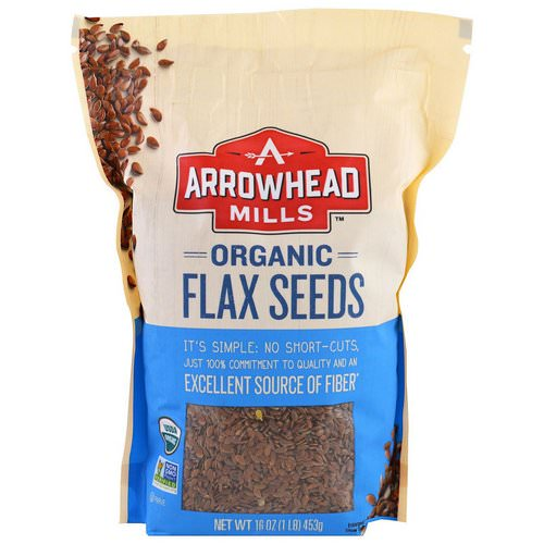Arrowhead Mills, Organic Flax Seeds, 16 oz (453 g) Review