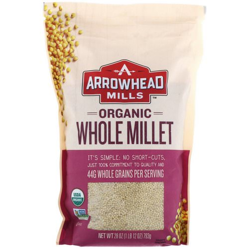 Arrowhead Mills, Organic Whole Millet, 1.75 lbs (793 g) Review