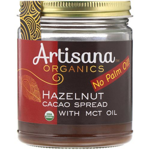 Artisana, Organics, Hazelnut Cacao Spread, 8 oz (227 g) Review