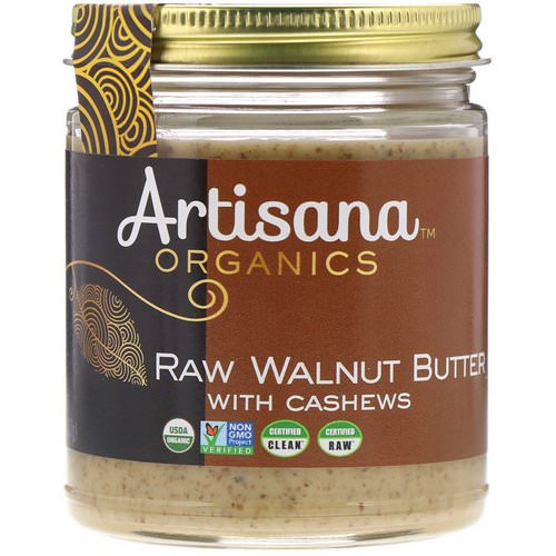 Artisana, Organics, Raw Walnut Butter, 8 oz (227g) Review