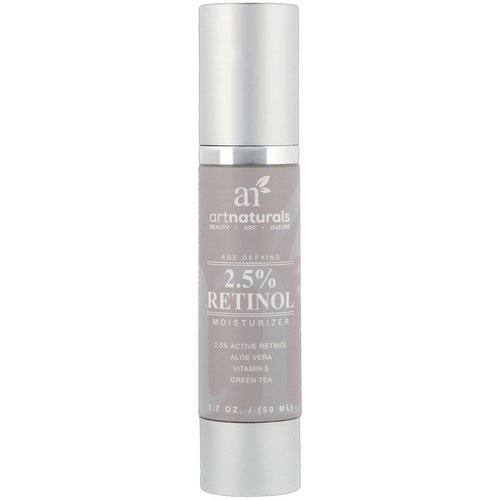 Artnaturals, Age Defying, 2.5% Retinol Moisturizer, 1.7 oz (50 ml) Review