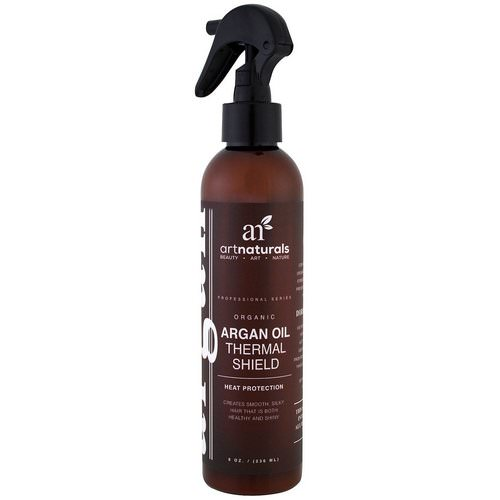 Artnaturals, Argan Oil Thermal Shield, Heat Protection, 8 oz (236 ml) Review