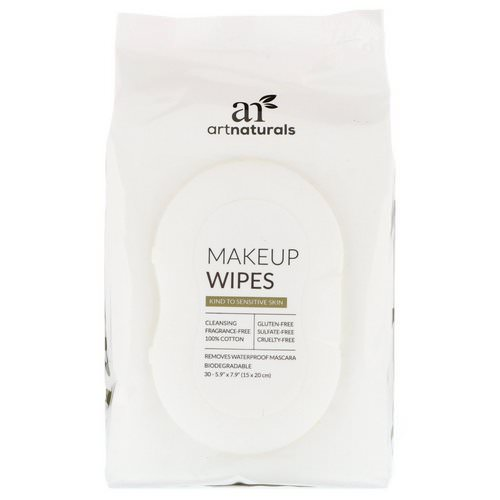 Artnaturals, Makeup Wipes, 30 Wipes Review