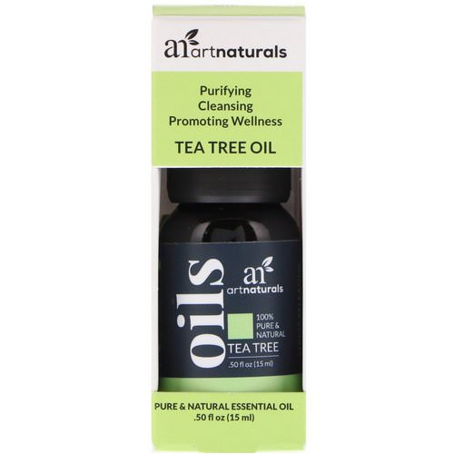 Artnaturals, Tea Tree Oil, .50 fl oz (15 ml) Review