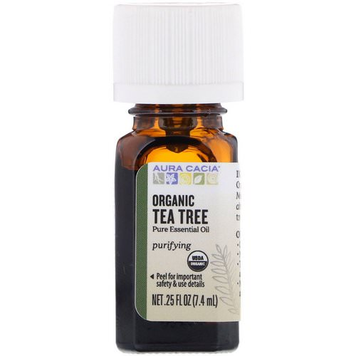 Aura Cacia, Organic Tea Tree, 0.25 fl oz (7.4 ml) Review