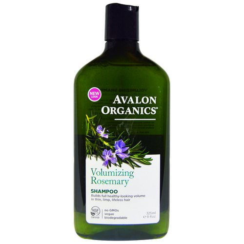 Avalon Organics, Shampoo, Volumizing, Rosemary, 11 fl oz (325 ml) Review