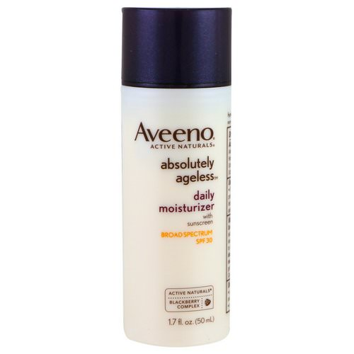 Aveeno, Absolutely Ageless, Daily Moisturizer, SPF 30, 1.7 fl oz (50 ml) Review