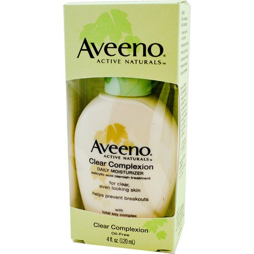 Aveeno, Active Naturals, Clear Complexion, Daily Moisturizer, 4 fl oz (120 ml) Review