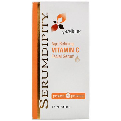 Azelique, Serumdipity, Age Refining Vitamin C Facial Serum, 1 fl oz (30 ml) Review