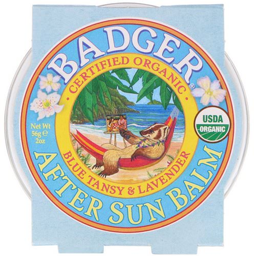 Badger Company, Organic, After Sun Balm, Blue Tansy & Lavender, 2 oz (56 g) Review